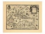 1594, Indes occidentales Giclée