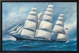 La gloire des mers Tableau sur toile encadré par Antonio Jacobsen