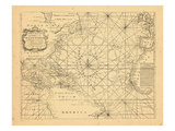 1773  Chart  West Indies  Atlantic Ocean