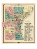 1881, Milwaukee City, Wisconsin, United States Giclée