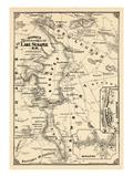 1911, Lake Sunapee, New Hampshire, United States Giclée