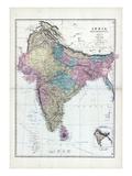 1873, India, Hindostan Giclée