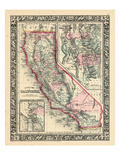 1864  United States  California  Utah  North America  California  Great Salt Lake Country