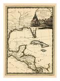 1798, Cuba, Central America, Latin America Giclée