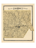 1876, Dearborn Township, Rouge, Michigan, United States Giclée