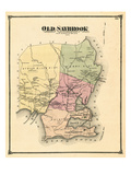 1874, Old Saybrook, Connecticut, United States Giclée