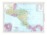 1913, Central America Giclée