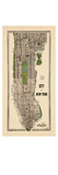 1949, Manhattan composite, 1949, New York, United States Giclée