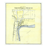 1892  Thiensville and Mequon - North  Wisconsin  United States