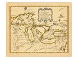1755, Grands Lacs Giclée
