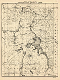 1900  Yellowstone National Park Tourist Map  Wyoming  United States