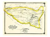 1876, Cranbury Township, Plainsboro P.O., New Jersey, United States Giclée