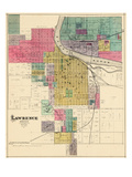 1887, Lawrence, Kansas, United States Giclée