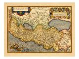 1598, Israel, Jordanie, Territoires Palestiniens Giclée