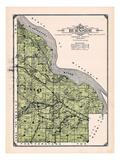 1914, Burnside Township, Eggleston, Cannon Junction, Minnesota, United States Giclée
