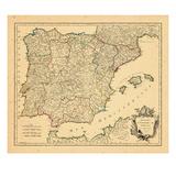 1750  Portugal  Spain