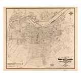 1873  Louisville  KY - New Albany and Jeffersonville  IN 1873  Kentucky  United States