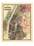 1867  New York & Brooklyn Plan  New York  United States
