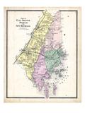 1867, Chester East, Pelham & New Rochelle, New York, United States Giclée