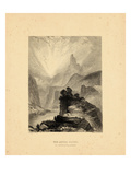 1876  Green River View of the Azure Cliffs  Colorado  United States