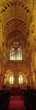 Interiors of a Chapel  Rosslyn Chapel  Roslin  Midlothian  Edinburgh  Scotland