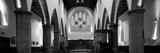 Interiors of a Church  Greyfriars Kirk  Edinburgh  Scotland