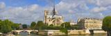 Cathedral at the Riverside  Notre Dame Cathedral  Seine River  Paris  Ile-De-France  France