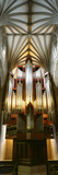 Pipe Organ in a Church  St Giles Cathedral  Royal Mile  Edinburgh  Scotland
