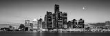 Buildings at the Waterfront, River Detroit, Detroit, Michigan, USA Papier Photo par Panoramic Images