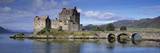 Castle on an Island  Eilean Donan  Loch Duich  Dornie  Highlands Region  Scotland