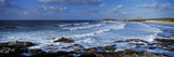 Waves in the Ocean  Fistral Beach  Cornwall  England