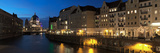 Berlin Cathedral and Nikolaiviertel at Spree River  Berlin  Germany