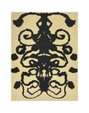Rorschach, 1984 Reproduction d'art par Andy Warhol