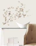 Silver Dollar Branch Add On Peel & Stick Wall Decals