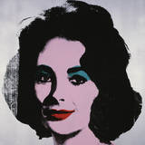 Liz, 1963 Reproduction d'art par Andy Warhol