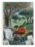 The New Yorker Cover - August 22  1959