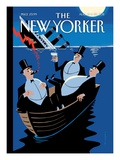 The New Yorker Cover - August 15  2011