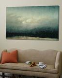 Le Moine au bord de la mer, 1809 Toile Murale Géante par Caspar David Friedrich