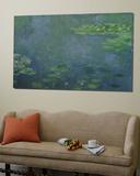 Les Nymphéas Toile Murale Géante par Claude Monet