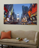 Manhattan Times Square  New York City  USA