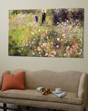 Paysage d'été Toile Murale Géante par Pierre-Auguste Renoir