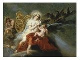 The Birth of the Milky Way with Juno Breastfeeding Baby Hercules  1636-37