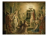 Temple of the Holy Grail  Final Scene from Parsifal  Opera by Richard Wagner  1813-83