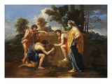 Les Bergers D'Arcadie (Shepherds of Arcadia)  also Called Et in Arcadia Ego