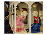 The Annunciation Altarpiece with Predella with Life and Death of Virgin Mary