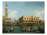 View of Basin of St Marks Square  Venice