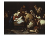 The Adoration of the Shepherds  1645-50  17X228Cm