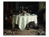 Remains of a Banquet  1884