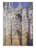 La Cathédrale De Rouen  Le Portail Et La Tour Saint-Romain  Plein Soleil  Harmonie Bleue Et