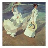 Women Walking on the Beach  1909